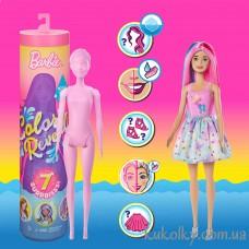Кукла Барби-сюрприз Ревил Цветное перевоплощение 1волна (Barbie Color Reveal Doll with 7 Surprises, 1)