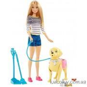Барби прогулка со щенком