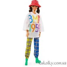 Кукла мулатка в шляпе БМР1959 2 волна (BMR1959 doll Brunette Wearing Mesh T-Shirt Barbie Millicent Roberts)