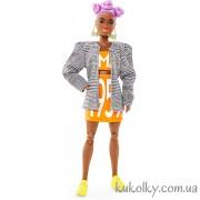 Кукла БМР 1959 афроамериканка с лиловыми волосами (2 волна)