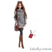 Барби Лук Высокая Мода в вязаном платье