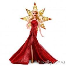 Кукла Барби Холидей блондинка 2017 в красном платье (Barbie Holiday 2017 red dress)