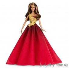 Кукла Барби Холидей 2016 в красном платье (Barbie Holiday 2016 red dress)