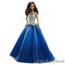 Кукла Барби Холидей 2016 в синем платье (Barbie Holiday 2016 Blue dress)