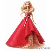 Барби Холидей 2014 в красном платье