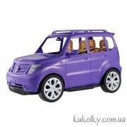 Барби машина внедорожник, фиолетовая