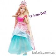 Высокая Барби принцесса Блондинка с длинными волосами