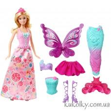 Кукла Барби Сказочное Волшебное Перевоплощение (Barbie Fairytale Dress Up Blonde)