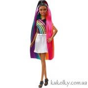 Барби Радужное сияние волос, темная