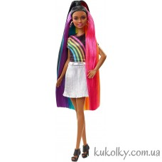 Темная кукла Барби Радужное сияние волос (Barbie Rainbow Sparkle dark Hair Doll)