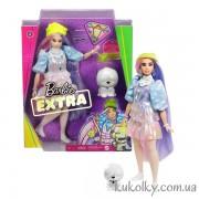 Кукла азиатка Барби Экстра №2 в мерцающем луке