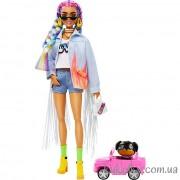 Кукла Барби Экстра №5 джинсовый жакет
