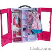 Шкаф Барби, розовый