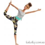 Барби йога Брюнетка с гулькой