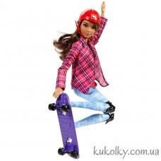 Кукла Барби двигайся как я на скейте