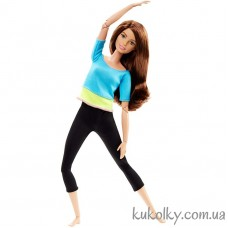 Кукла Барби Тереза йога шатенка