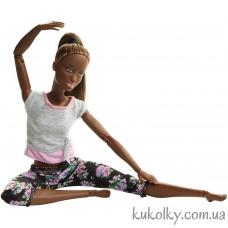 Кукла Барби Безграничные движения с черными волосами йога (Barbie Made to Move Dark Hair)