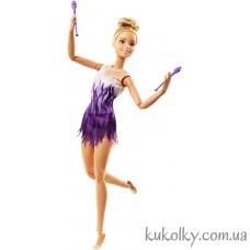 Кукла Барби двигайся как я блондинка гимнастка