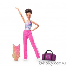 Кукла Барби двигайся как я Лаура Фернандес гимнастка (Barbie Signature Laurie Hernandez)