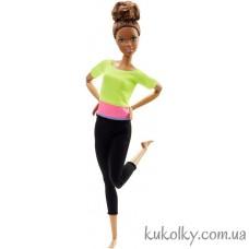Кукла Барби йога афроамериканка Аша