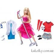Барби двигайся как я с микрофоном и одеждой