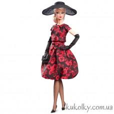Кукла Барби силкстоун розовое платье (Elegant Rose Cocktail Dress Barbie Doll)