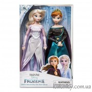 Набор кукол королевы Дисней Анна и Эльза Фрозен 2