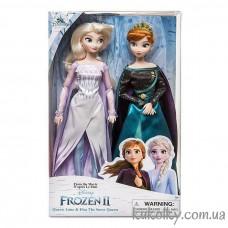 Кукла королева Анна и Эльза в наборе Холодное сердце 2 Дисней (Queen Anna and Snow Queen Elsa Classic Doll Set – Frozen 2)