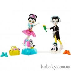 кукла Энчантималс Прина пингвин на катке (Enchantimals Darling Ice Dancers with Preena Penguin)