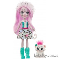 кукла Энчантималс Снежный барс Сибилла флаке (Enchantimals Sybill Snow Leopard)