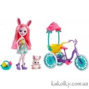 Кролик Банни Бри Энчантималс Прогулка на велосипеде