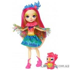 Кукла Энчантималс Пикки Какаду и попугай Шини (Peeki Parrot & Sheeny)