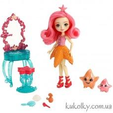 Игровой набор Морские подружки с морскими звездами Энчантималс (Starling Starfish Dolls)