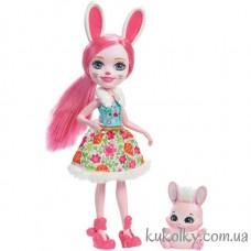 Кукла Энчантималс кролик Бри и питомец Твист