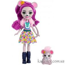 Кукла Энчантималс мышка Майла и питомец Фондю (Enchantimals Mayla Mouse and Fondue)