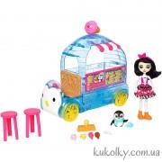 Фургончик мороженого Прины Пингвины Энчантималс