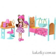 Игровой набор Спальня мечты с Медведицей Брен и Снор Энчантималс (Enchantimals Dreamy Bedroom Playset with Bren Bear)