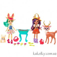 Ігровий набір Чарівний ліс Енчантімалс Олень і Кролик
