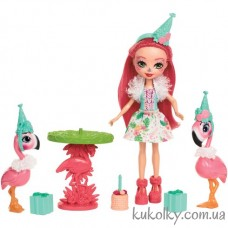 Игровой набор Фламинго Праздник на природе Энчантималс