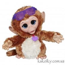 Интерактивная забавная обезьянка Хасбро (FurReal Friends Baby Cuddles My Giggly Monkey Pet Plush Hasbro)