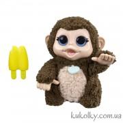 Интерактивная забавная обезьянка с бананом