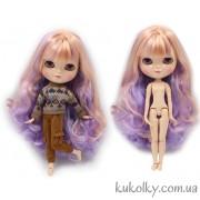 Айси с фиолетово-розовыми волосами