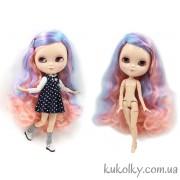 Айси с розово-голубыми волосами