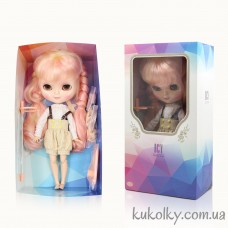 Кукла Айси с длинными желто-розовыми волосами с челкой (ICY - сестра Блайз)