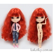 Айси с красными волосами