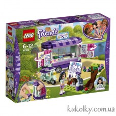 Конструктор Лего Френдс Мольберт Эммы (41332 LEGO Friends Emma's Art Stand)