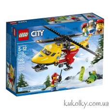 Конструктор Лего сити Вертолет скорой помощи (60179 LEGO City Ambulance Helicopter Building Kit)