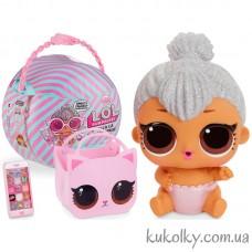 Шар ЛОЛ Принцесса Китти Кошечка (L.O.L. Surprise Ooh La La Baby Surprise- Lil Kitty Queen MGA LOL)