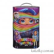 Кукла ЛОЛ Пупси Радужный сюрприз (фиолетовая или голубая леди)