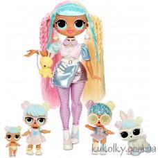 Кукла ЛОЛ и семейство Кендилишес БонБон (L.O.L. Surprise! O.M.G. Candylicious Bon Bon Family with 45 Surprises MGA)